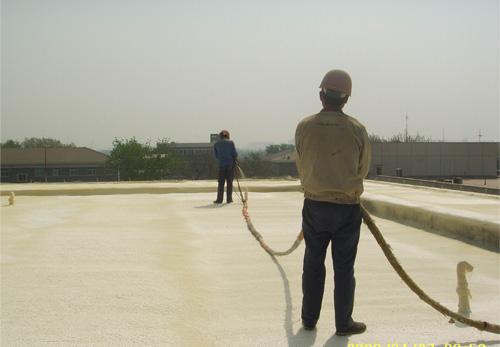 屋面保温施工